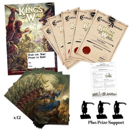 Kings of War Organised Play Kit – Level 2 (12 Players) (självkostnadspris)