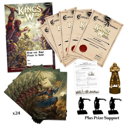Kings of War Organised Play Kit – Level 3 (24 Players)