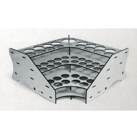 Corner module paint stand