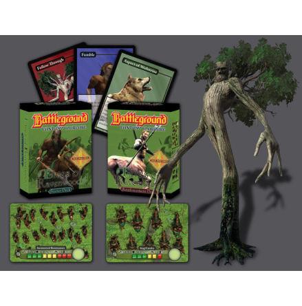 Battleground: Elf Reinforcements Display (4-pack)