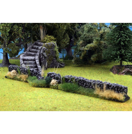 Nature Stone Walls 2 pieces