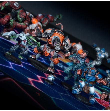 DreadBall: MegaBall Veterans [All-Stars Pack] (20% rabatt/discount!)