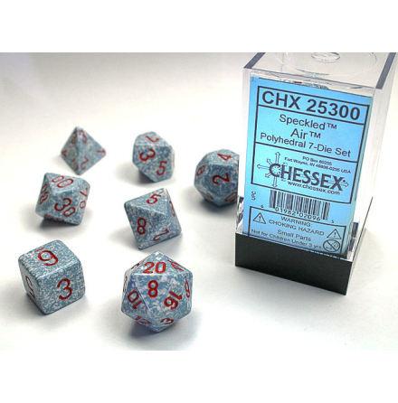 Speckled Polyhedral Air 7-Die Set