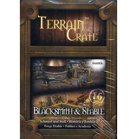 TERRAIN CRATE: BLACKSMITH & STABLE (2020)