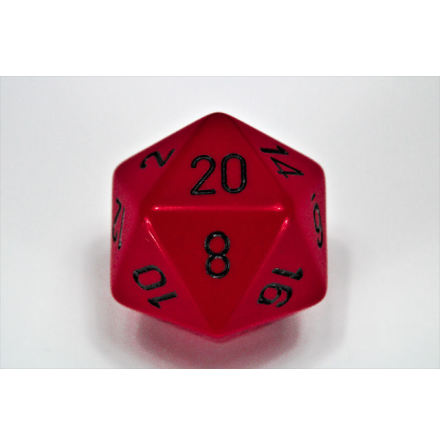 Opaque 34mm d20 Red/black