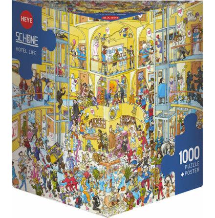 Schöne: Hotel Life (1000 pieces triangular box)