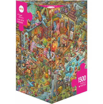 Tiurina: Fun With Friends (1500 pieces triangular box)