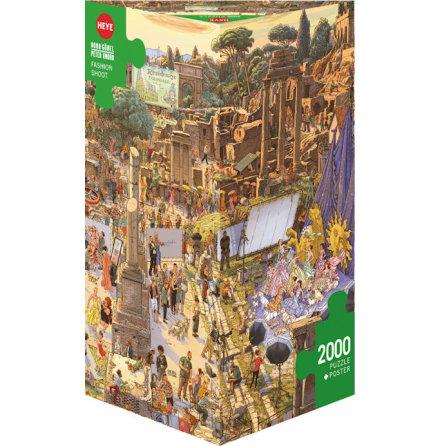 Göbel/Knorr: Fashion Shoot (2000 pieces triangular box)