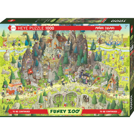 Funky Zoo: Transylvanian Habitat (1000 pieces)