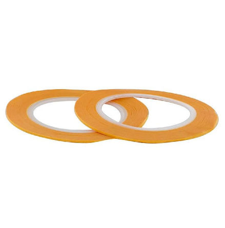 PRECISION MASKING TAPE 1MMX18M - TWIN PACK