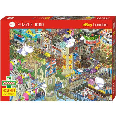 Pixorama: London Quest (1000 pieces)