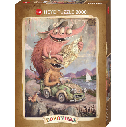 Zozoville: Road Trippin (2000 pieces)