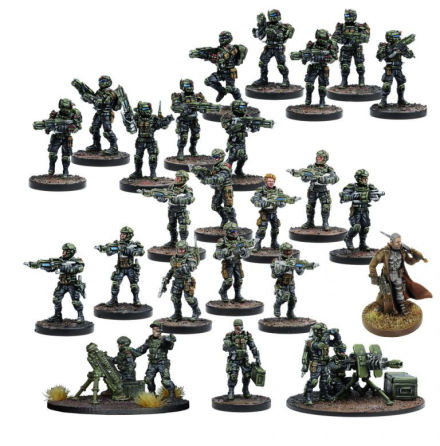 DEADZONE: GCPS Faction Starter (20% rabatt/discount!)