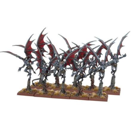 Abyssal Dwarf Gargoyles (10)