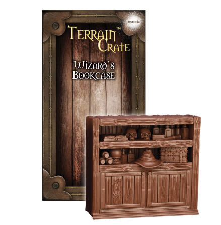 TERRAIN CRATE: Wizards Bookcase