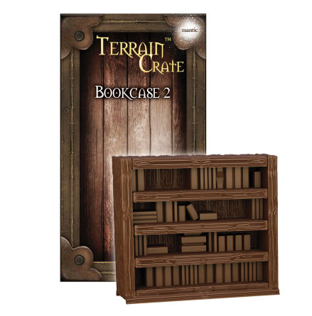 TERRAIN CRATE: Bookcase 2