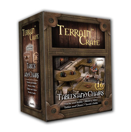 TERRAIN CRATE: Tables and chairs