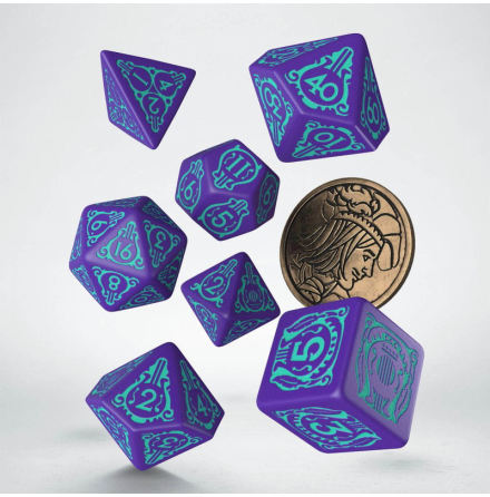 The Witcher Dice Set. Dandelion - Half a Century of Poetry