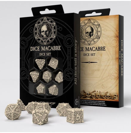 Dice Macabre Dice Set