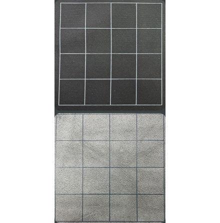 Megamat™ 1inch Reversible Black-Grey Squares (release Juli)