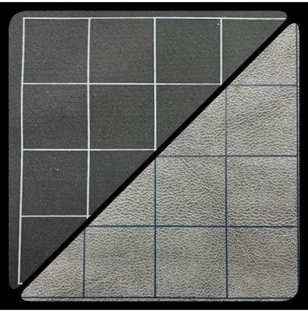 Battlemat™ 1inch Reversible Black-Grey Squares (release Juli)