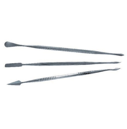 SET OF 3 Stainless Steel CARVERS