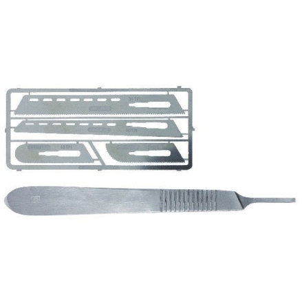 SAW SET #1 WITH SCALPEL HANDLE #4