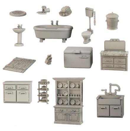 TerrainCrate: Bathroom & Kitchen