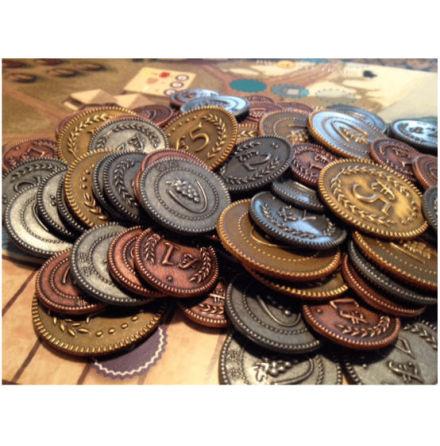 Viticulture Metal Lira Coins