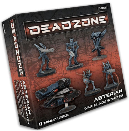 Deadzone 3.0 Asterian War Clade Starter
