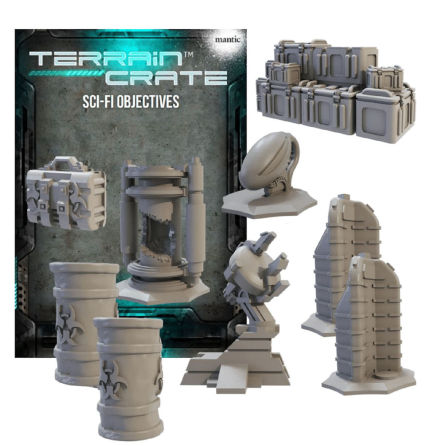 Deadzone 3.0 Sci-fi objectives