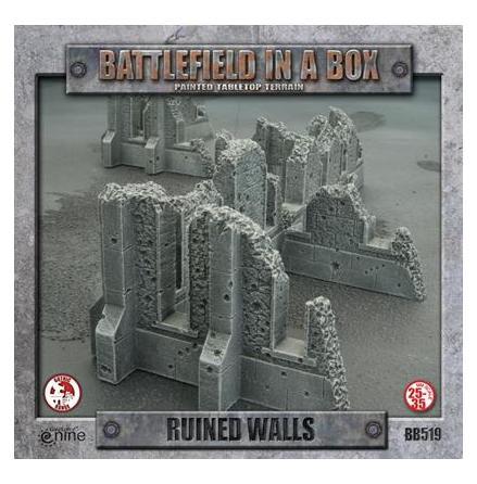 GOTHIC TERRAIN: Ruined Walls