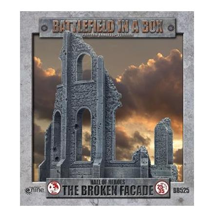 Gothic Battlefields - Broken Façade (x2) - 30mm