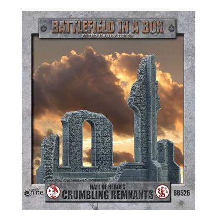 Gothic Battlefields - Crumbling Remnants (x2) - 30mm
