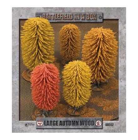Large Autumn Wood (x1) - 30mm