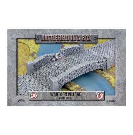 Wartorn Village - Ruined Bridge