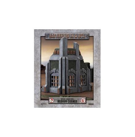 Gothic Industrial - Medium Corner (x1) - 30mm