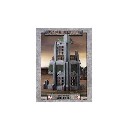 Gothic Industrial - Large Corner (x1) - 30mm