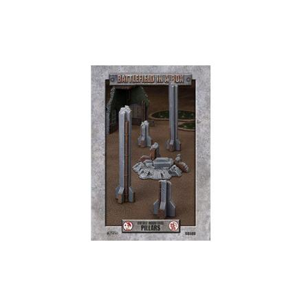 Gothic Industrial - Pillars (x1) - 30mm