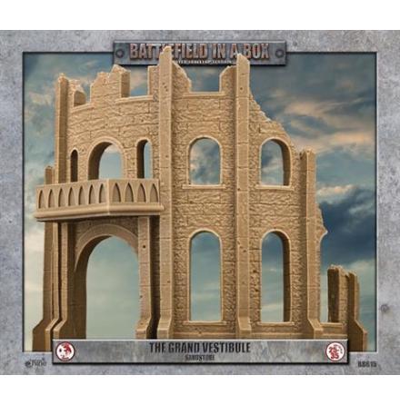 Gothic Battlefields - The Grand Vestibule - Sandstone (x1) 30mm