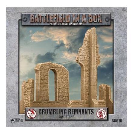 Gothic Battlefields - Crumbling Remnants - Sandstone (x2) 30mm