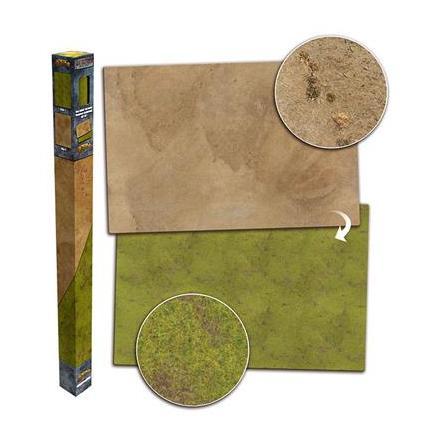 Gaming Mat - Grassland/Desert (6x4)