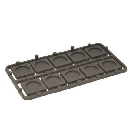 Mantic 20mm Square Bases x10