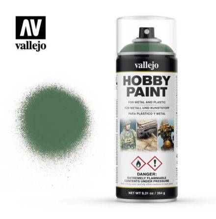 Vallejo Hobby Paint Spray: Sick Green (400 ml)