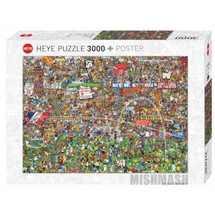 Mishmash: Football History (3000 pieces)