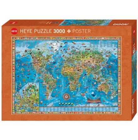 Map Art: Amazing World (2000 Pieces)