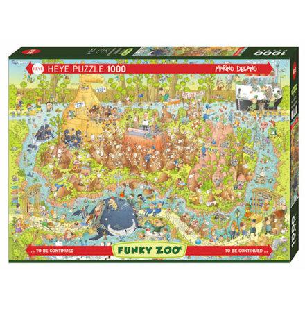 Funky Zoo: Australian Habitat (1000 pieces)