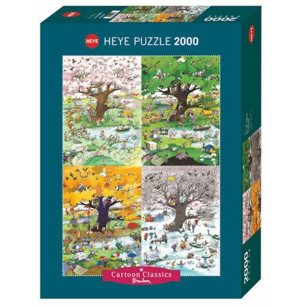 Cartoon Classics: 4 Seasons (2000 pieces)