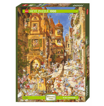 Romantic Town: By Day (1000 pieces)