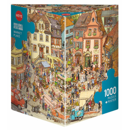 Göbel/Knorr: Market Place (1000 pieces triangular box)